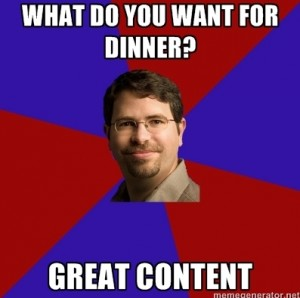 Matt Cutts Great Content