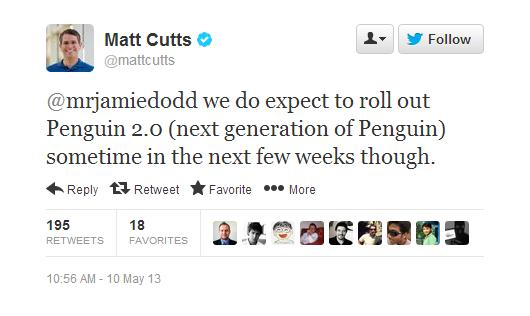 matt cutts penguin 2